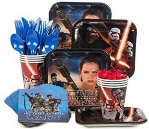 Star wars party supply kit
