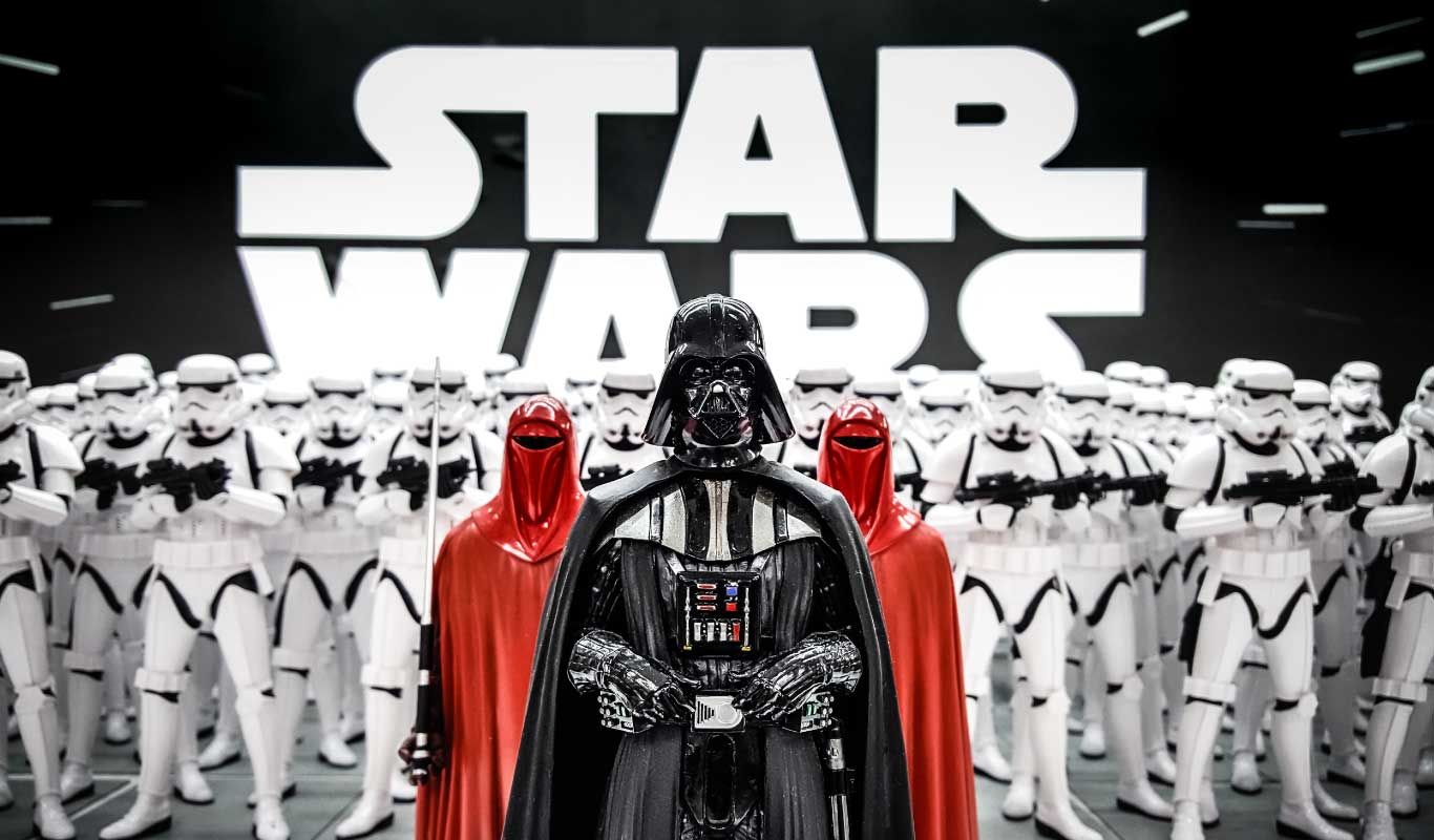 Throw the ultimate Star Wars theme party for New Year!