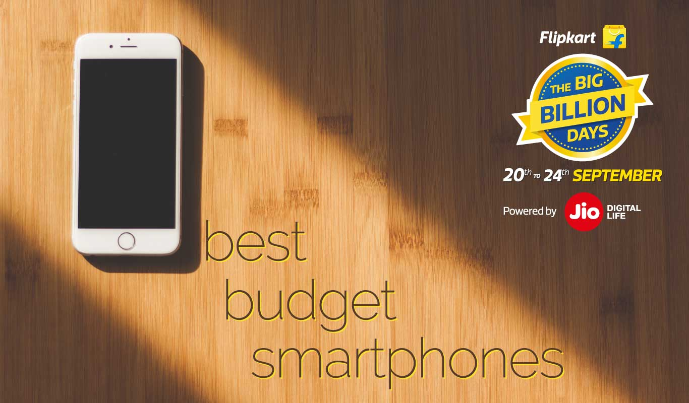 Best budget smartphones to buy during The Big Billion Days 2017
