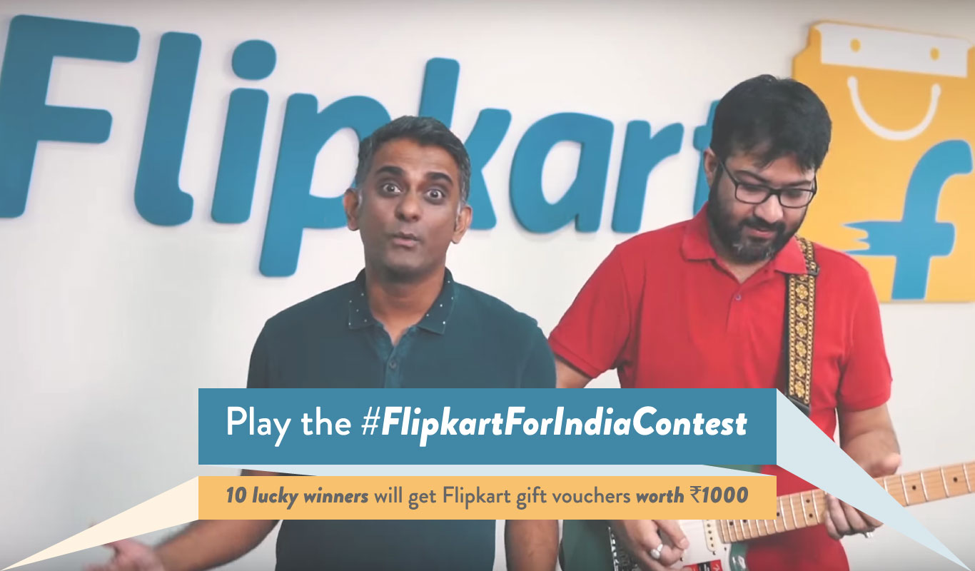 #FlipkartForIndiaContest – Watch the music video and answer 10 questions