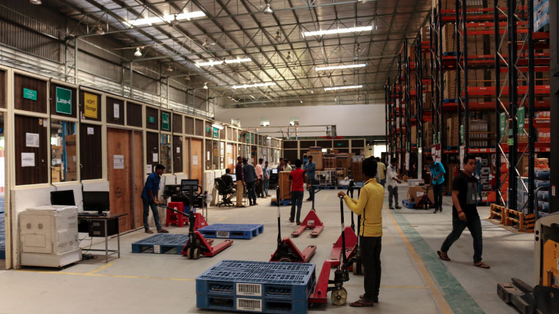 Flipkart warehouse