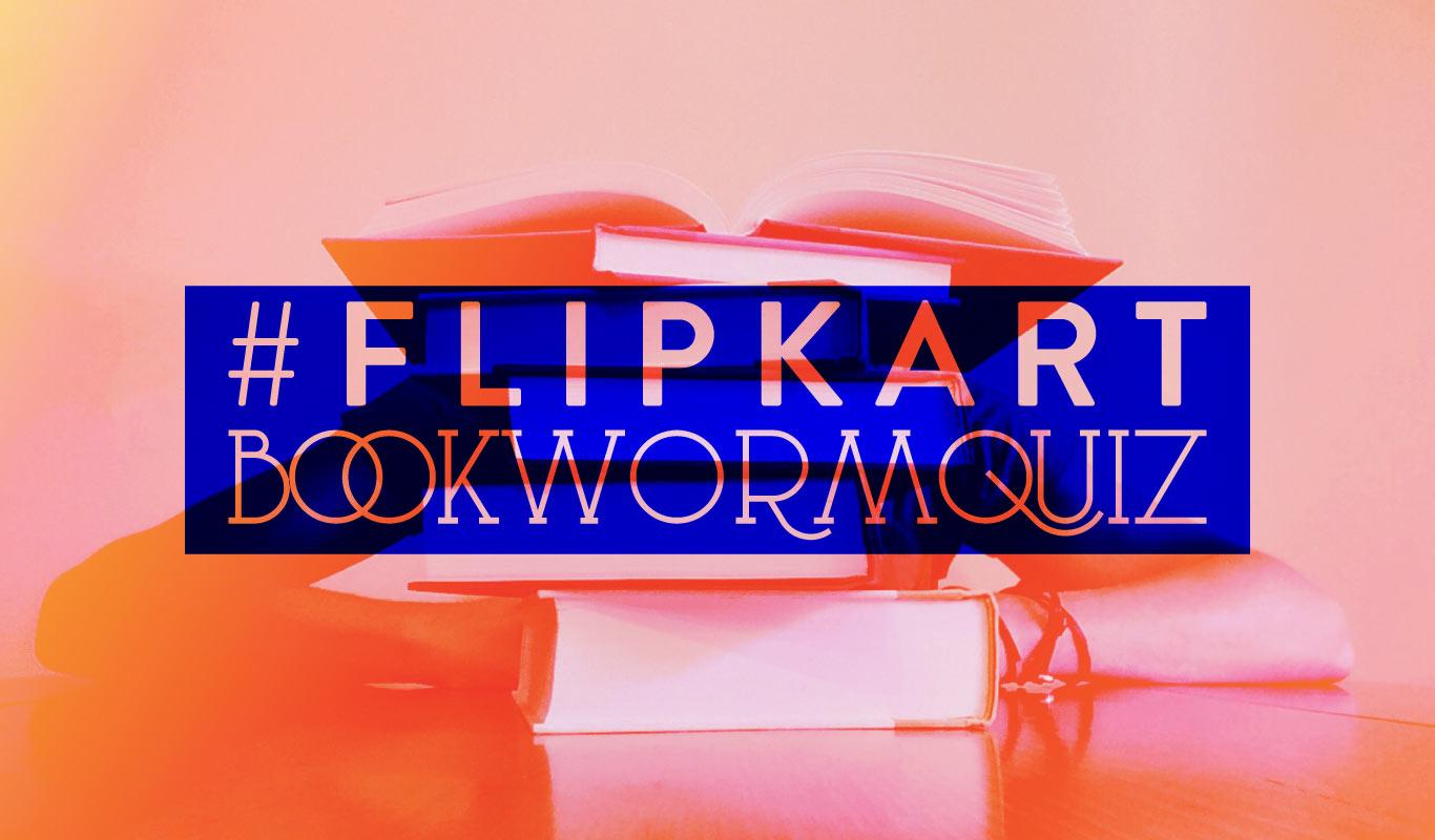 #FlipkartBookwormQuiz – Read, play and win cool prizes