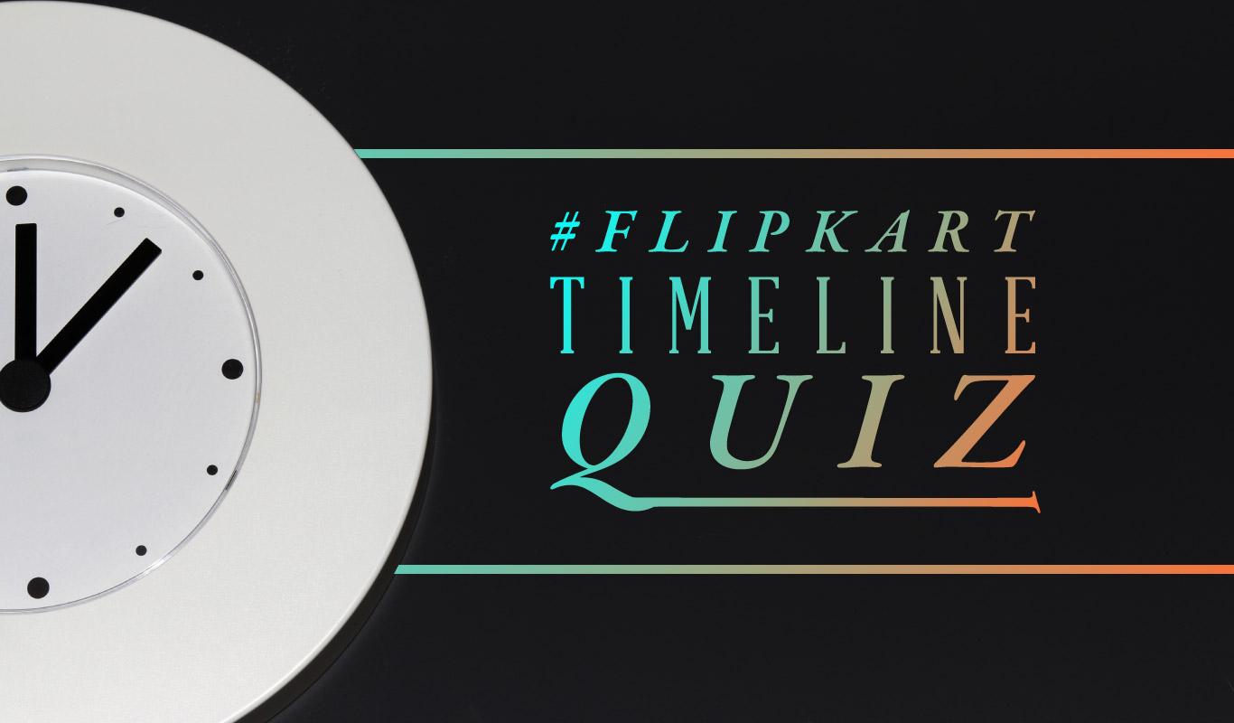 #FlipkartTimelineQuiz – Test your memory!
