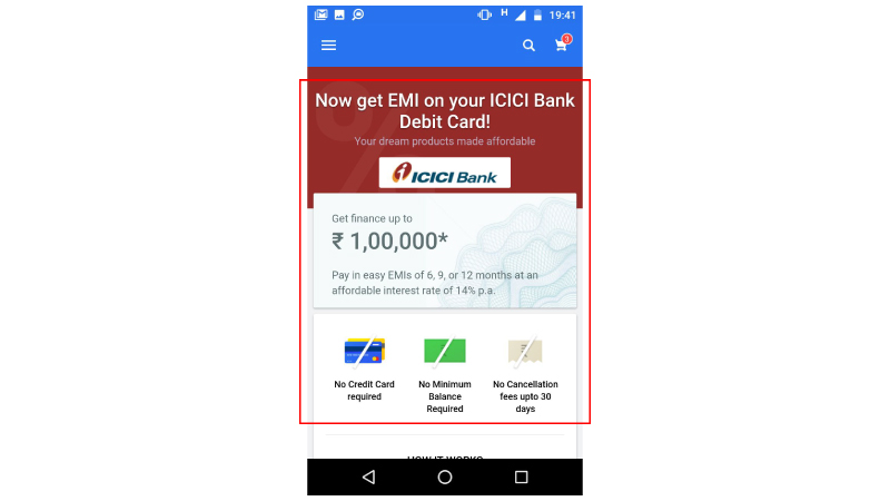 6a001ded8 Debit Card EMI from Flipkart — Here s everything you need to know