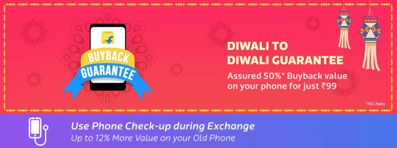 Diwali Smartphone Deals - Buyback Guarantee