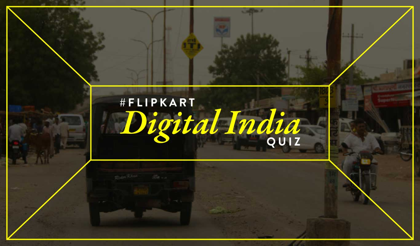 #FlipkartDigitalIndiaQuiz – How well do you know India's small towns?