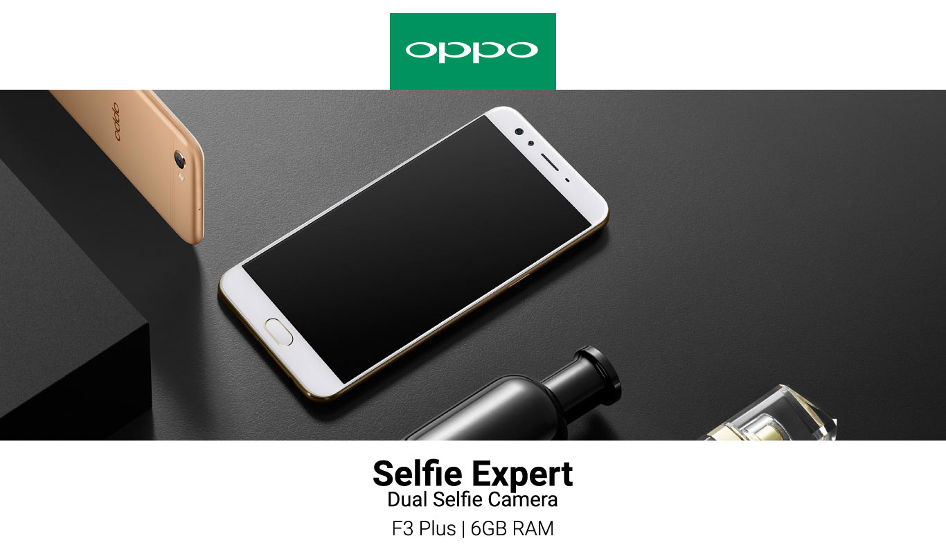The OPPO F3 Plus with 6GB RAM: An online exclusive #OnlyOnFlipkart