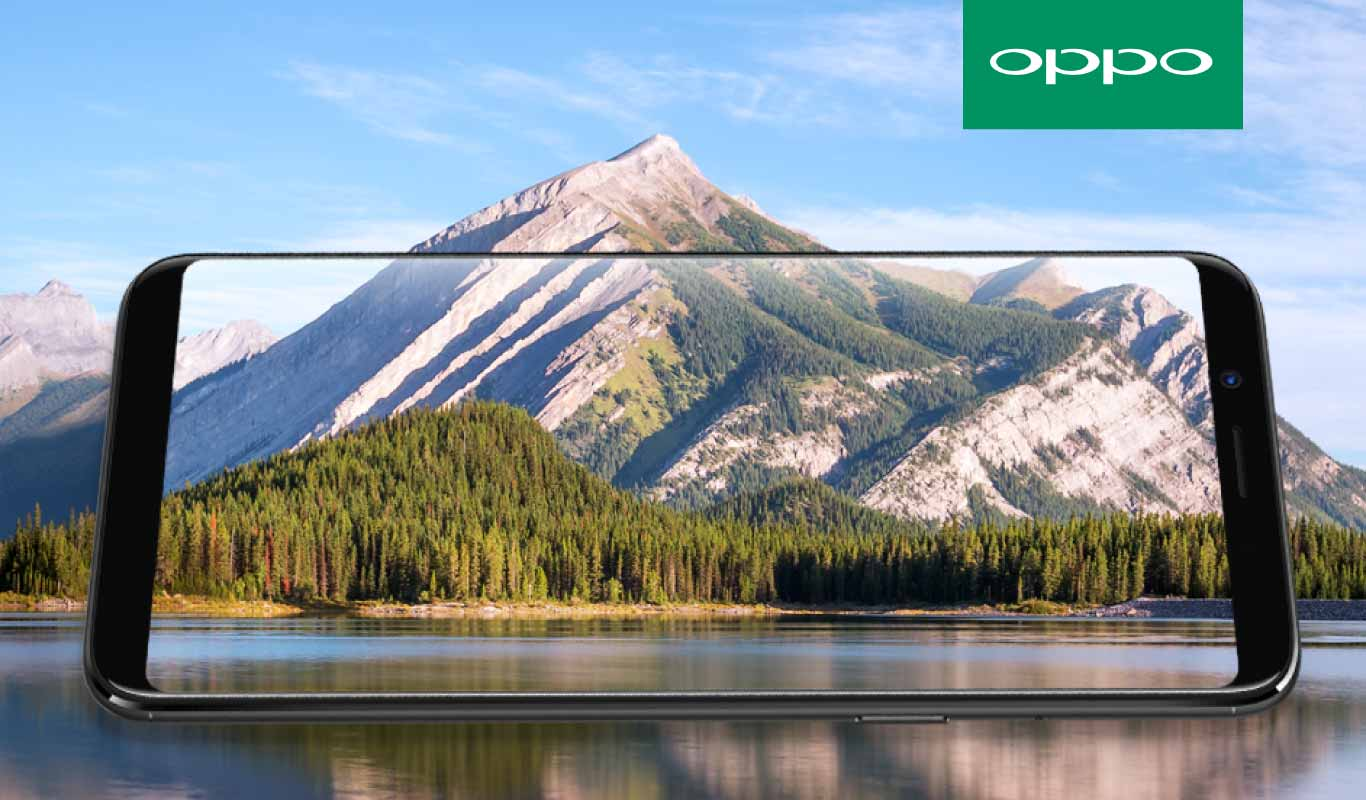 Get your hands on the OPPO F5, available online exclusively on Flipkart