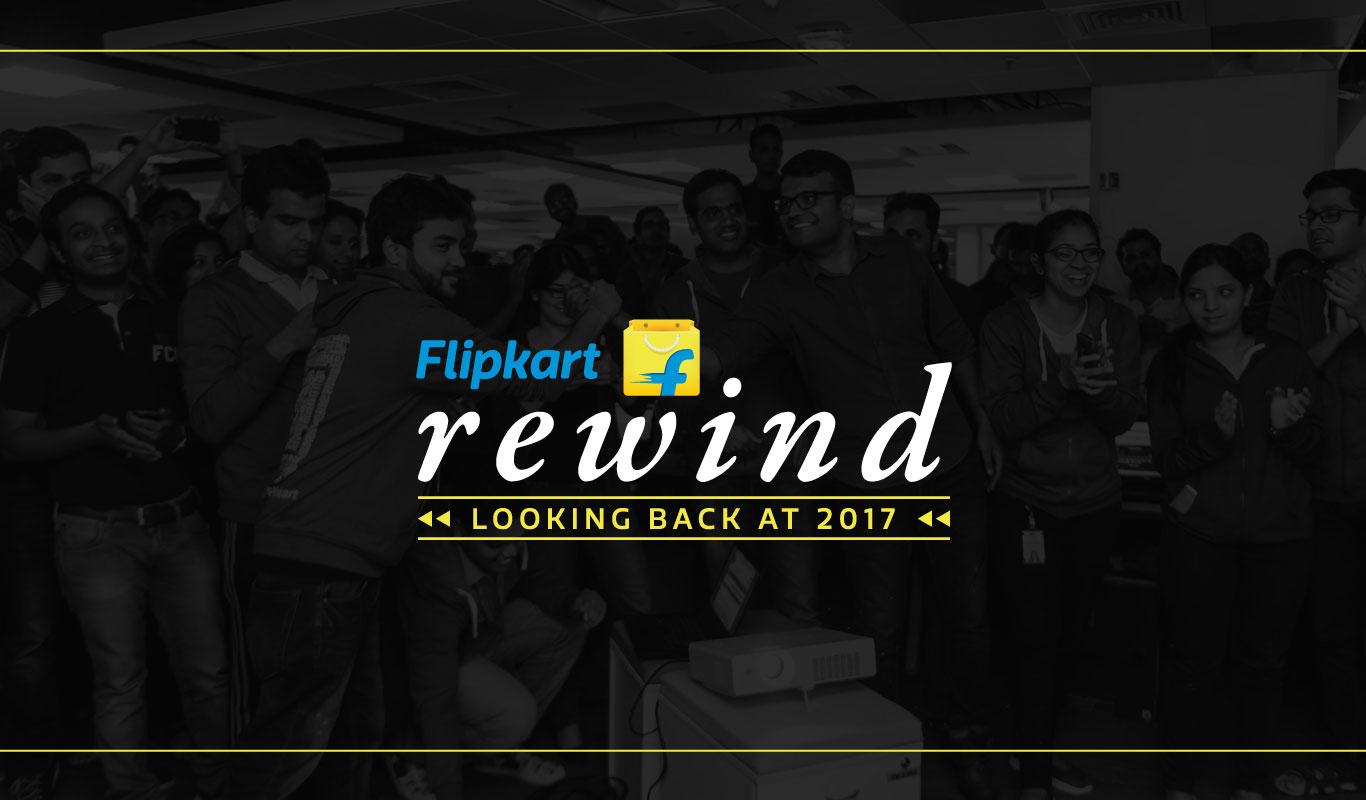 #FlipkartBIG10 Milestones – 2017 was the year of Flipkart!