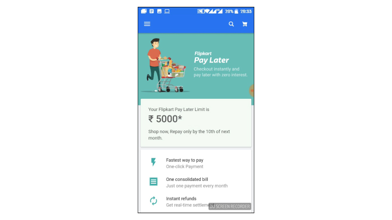 12f3b1b242 Flipkart Pay Later - Here s how you can shop   pay at your convenience