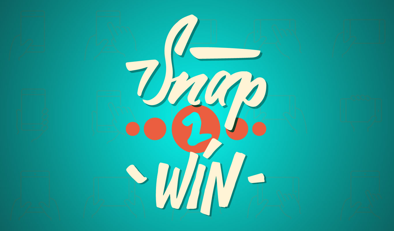In it to win it! Hit jackpot with the #Snap2win contest on Twitter