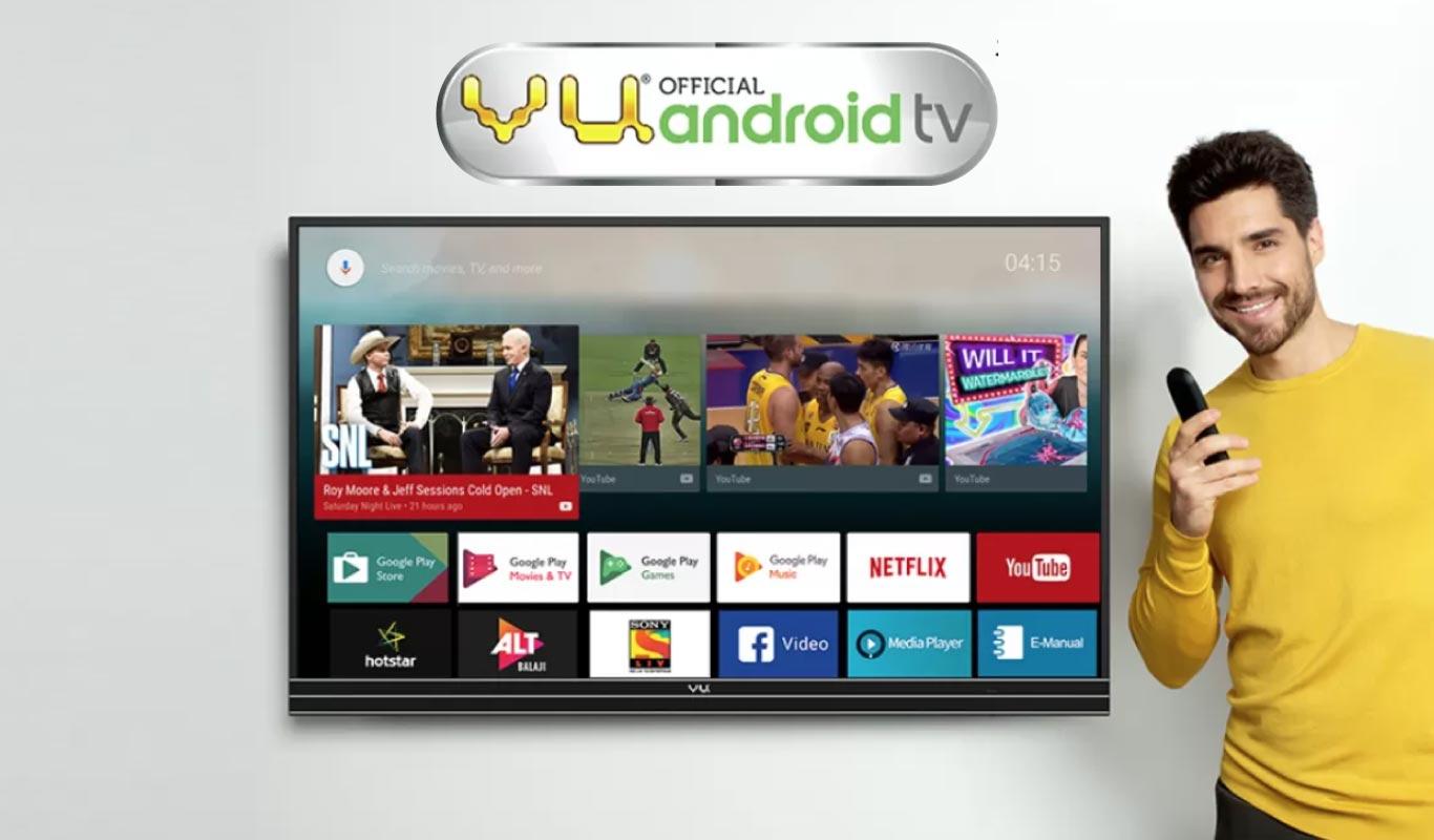 Ok Google, let's watch some Vu TV – #OnlyOnFlipkart