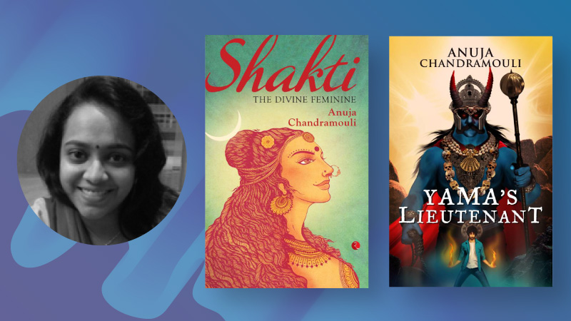 Indian women authors - Anuja Chandramouli