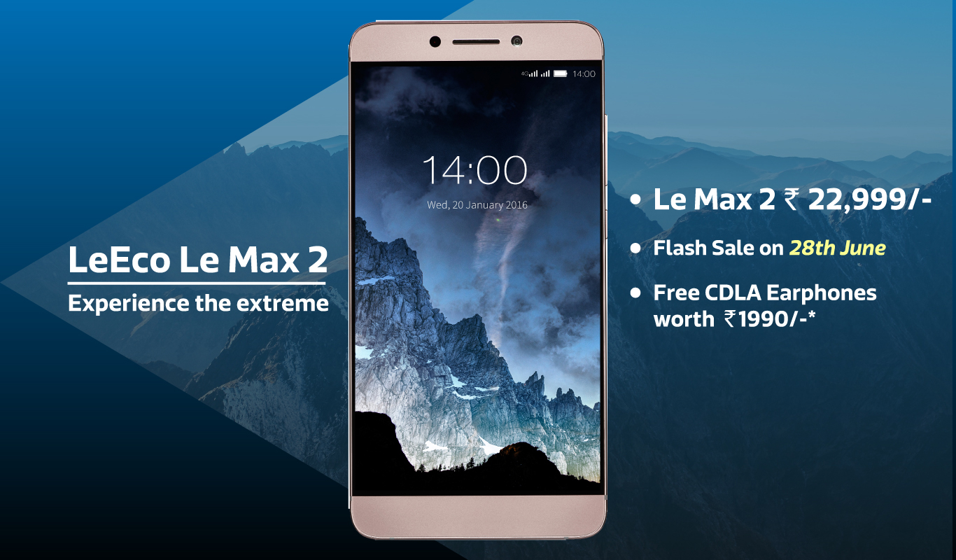 Flipkart Exclusive - Unveiling the LeEco LeMax2